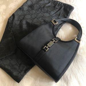 Gucci Jackie Silk/Satin Mini Bag | MINT CONDITION